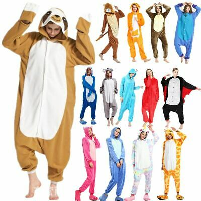 NUOVO pigiama intero animale kigurumi unisex costume da XMAS carnevale cosplayIT 3