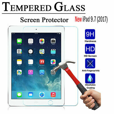 New iPad Screen protector Tempered Glass for iPad 5th 6th 2017/2018 9.7 iPad Air 2