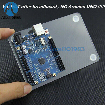 Universal Experimental Platform Transparent Clear Acrylic Board UNO for Arduino 12