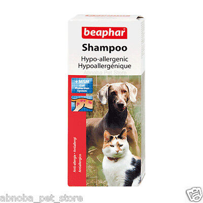 Beaphar Shampoo Anti Allergy Hypo-Allergenic MSM Cell Protection System Dog Cat 2