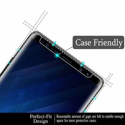 Case Friendly Tempered Glass Screen Protector For Samsung Galaxy NOTE 8 9 4