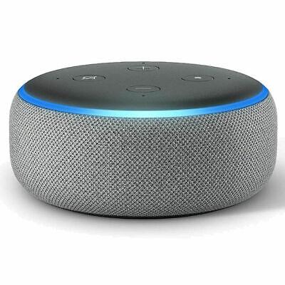 NEW Amazon Echo Dot 3rd Generation Smart speaker with Alexa - Black/Grey/White 4