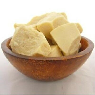 Cocoa Butter - 500g -  Unrefined Pure Natural Raw Moisturiser Cream Food Skin