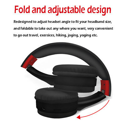 Bluetooth Wireless Headphones Over Ear Headset Noise Cancelling With Microphone 2