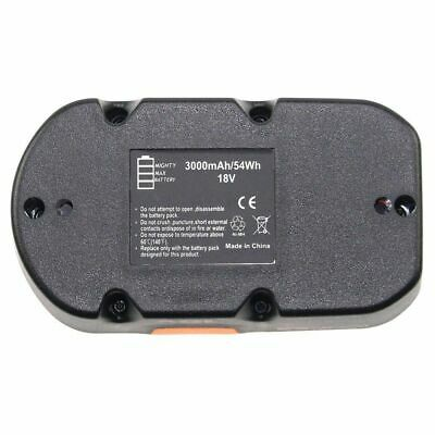 18v 3.0Ah Replace for Ryobi Battery ONE+ P100 P101 1322401 1400672 13022 ABP1801 5