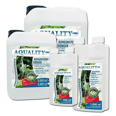 (9,00€/l) AQUALITY CO2 Kohlenstoffdünger 2.500 ml Pflanzendünger für Aquarium 4