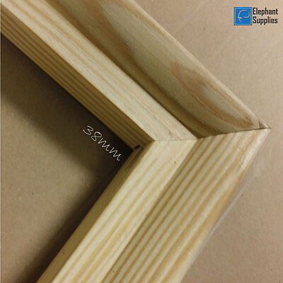 Canvas Stretcher Bars, Canvas Frames, Pine Wood 18mm & 38mm Thick - Sold By Pair 2