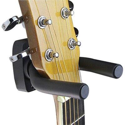 4X Guitar Hanger Adjustable Wall Mount Display Bracket Hook Holder Bass Stands 8