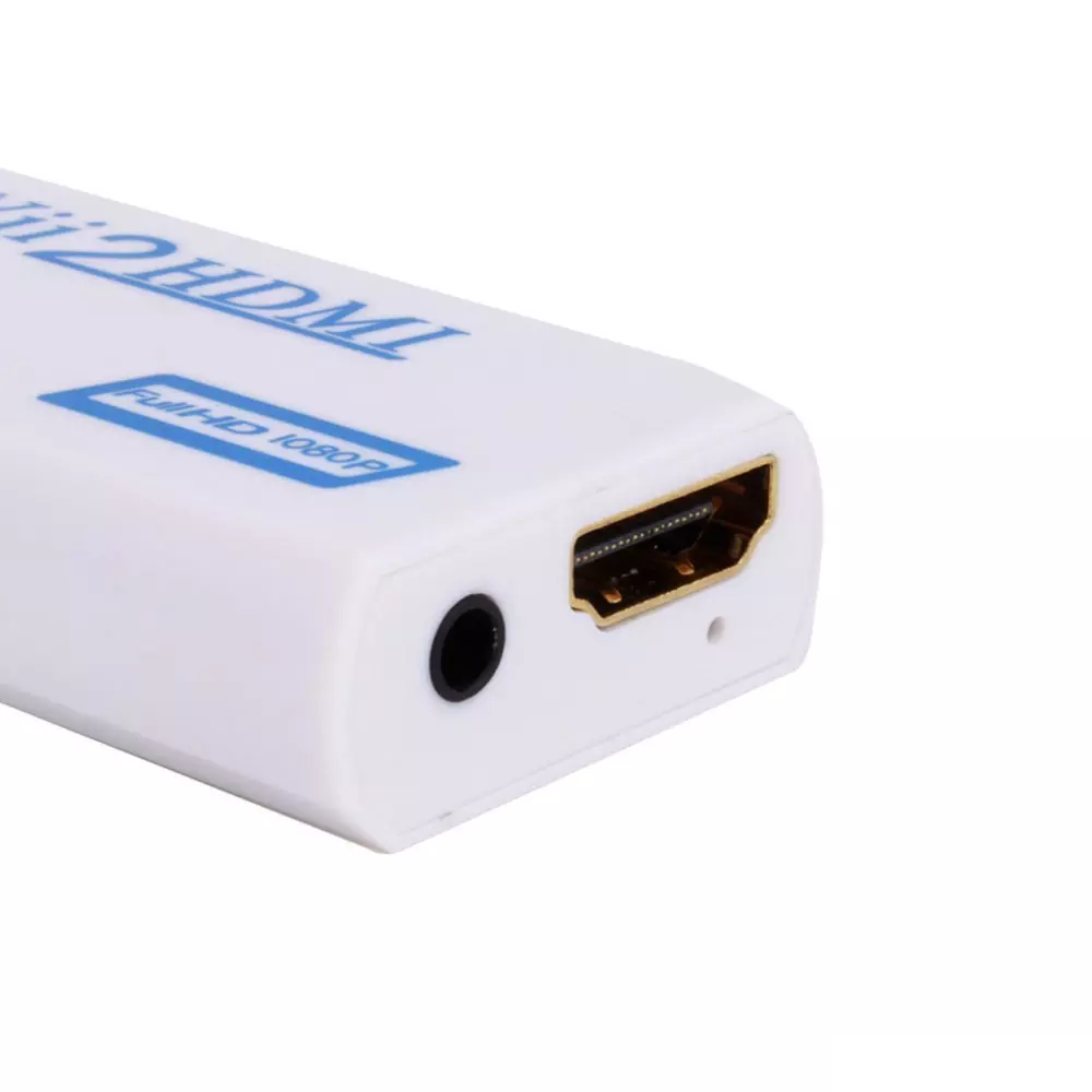 Wii To Hdmi Adapter Wii2hdmi 1080p Converter 3.5mm Audio Video Full HD Wii HDTV 2