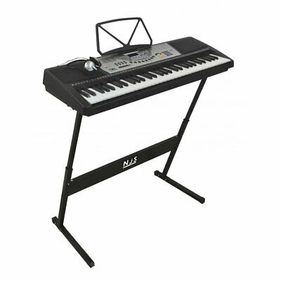 61 Key Full Size Digital Electronic Keyboard Kit Inc Stand, Stool and Headphones 6