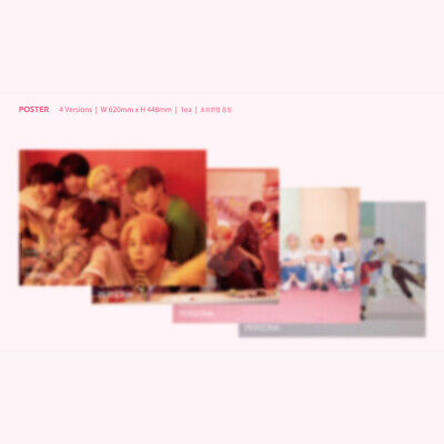 BTS MAP OF THE SOUL : PERSONA Album 4SET CD+Photobook+Card+Etc+Tracking Number 12