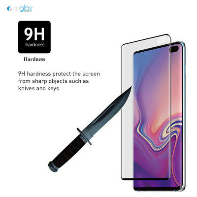 NUGLAS 3D Tempered Glass Screen Protector For Samsung Galaxy S10 S9 S8 Plus S10e 7