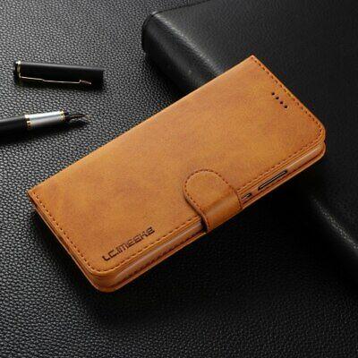 Samsung Galaxy A20 A30 A50 A70 Velvet Wallet Case Flip Card Slots Classic Cover 3