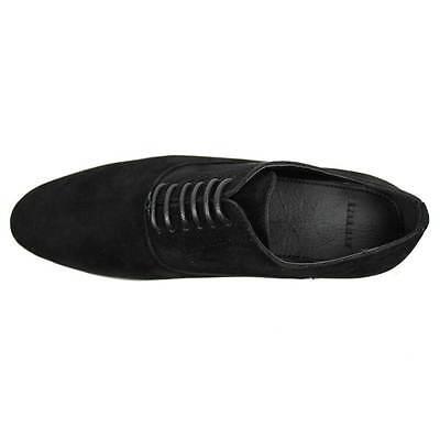 New Men/'s Black Coronado Cody Shoe Round Toe Suede Casual Lace Up Denim Friendly