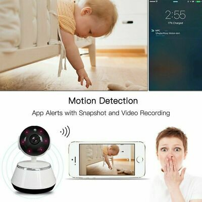 HD Night Vision Wireless WiFi Smart Home Security Camera Video Baby Dog Monitor 6