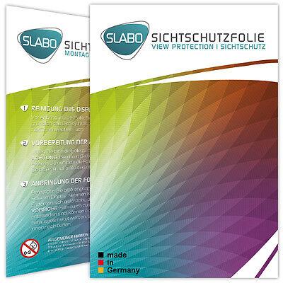 Slabo Blickschutzfolie Samsung Galaxy S7 Edge (1er Set) SCHWARZ View Protection