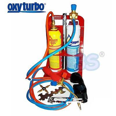 3S Turbo Set 90 Oxyturbo Stazione Saldatura Autogena Kit Cannello Ossigeno + Gas 2