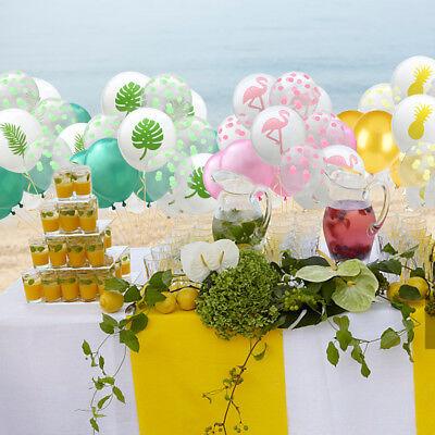 15pcs Set Hawaiian Tropical Home Birthday Party Decorations