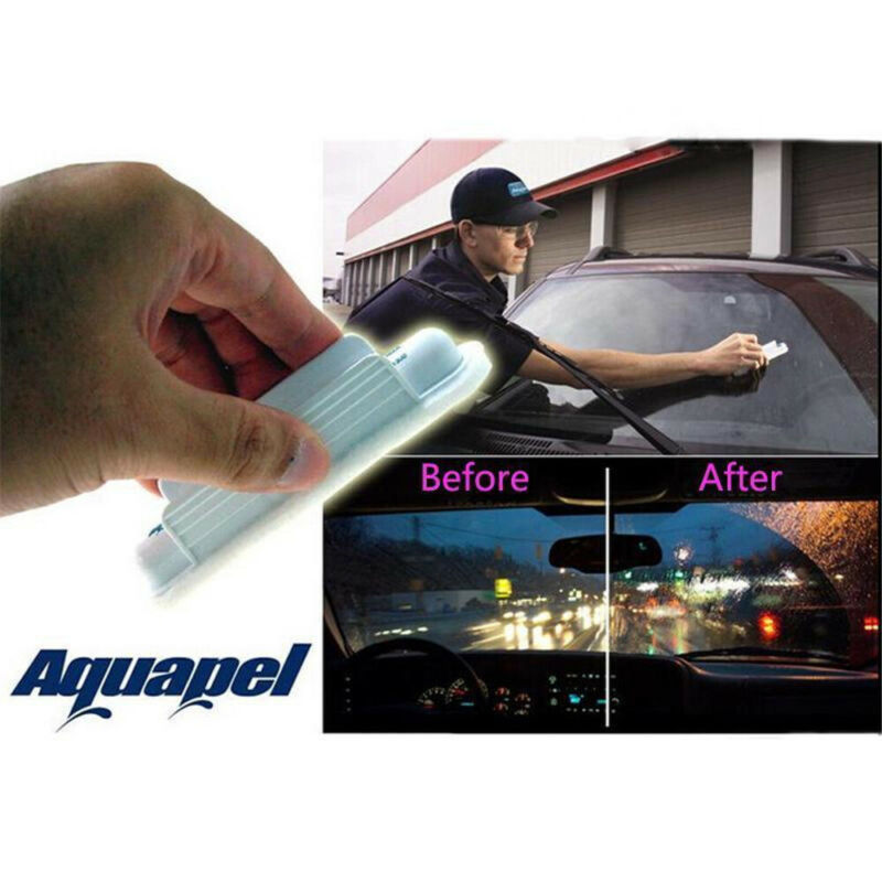 AQUAPEL Applicator Windshield Glass Treatment Water Rain Repellent Repels NEWLY 2