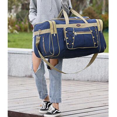 "25"" Men Travel Gym Duffle Bag Sports Waterproof Blue Tote Handbag Overnight New 5"