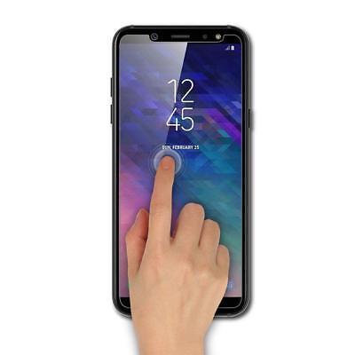 Transparente coque Samsung Galaxy A6/A6Plus 2018+ Verre trempé écran protecteur 2