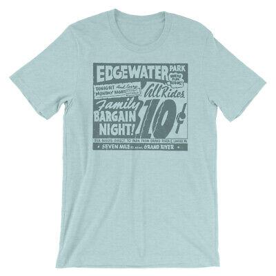 Retro Tees Old Chicago Amusement Park Short-Sleeve Unisex T-Shirt