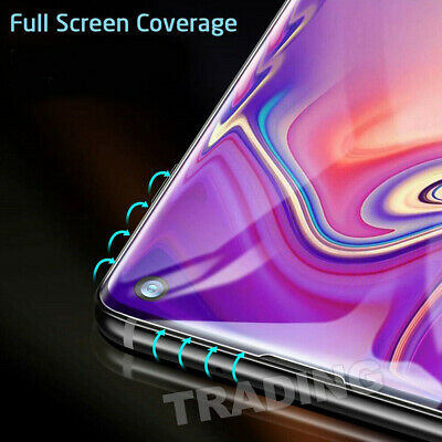 Galaxy S9Plus S10 5G Note9 S10e Full Tempered Glass Screen Protector For Samsung 7