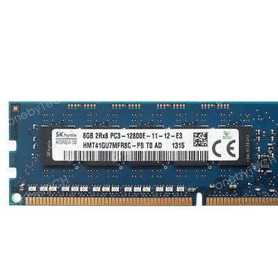 16GB 2x8GB PC3-12800E DDR3 1600 ECC Unbuffered HP ProLiant MicroServer Gen8 RAM 3