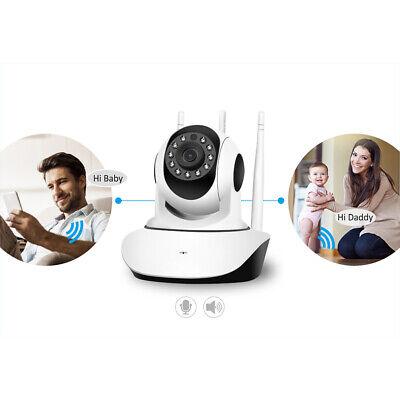 1080P WIFI IP Camera WHITE Wireless Outdoor CCTV HD Home Security IR Cam 2Mp 9