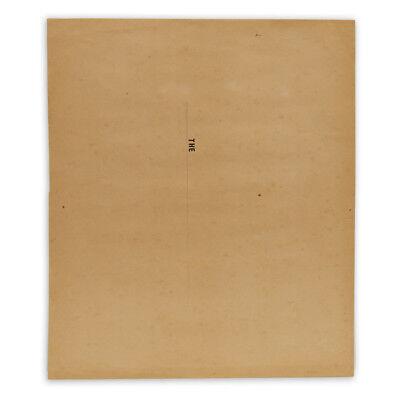 """1974 Vintage LEONARDO DA VINCI /""""PORTRAIT OF A MUSICIAN/"""" COLOR offset Lithograph"""
