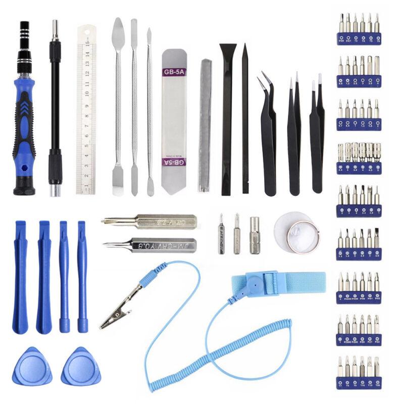 80 in 1 Repair Opening Tool Kit Screwdriver Set For Phones Laptops PC bs02