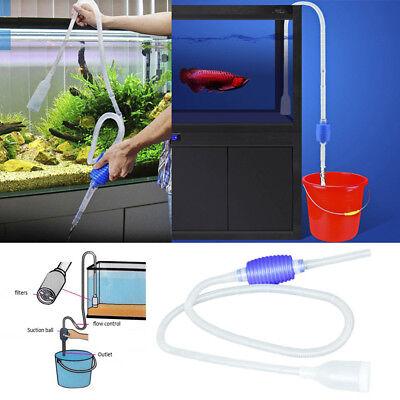 Aquarium Vacuum Water Changer Gravel Sand Cleaner Fish Tank Siphon Pump Cleaning