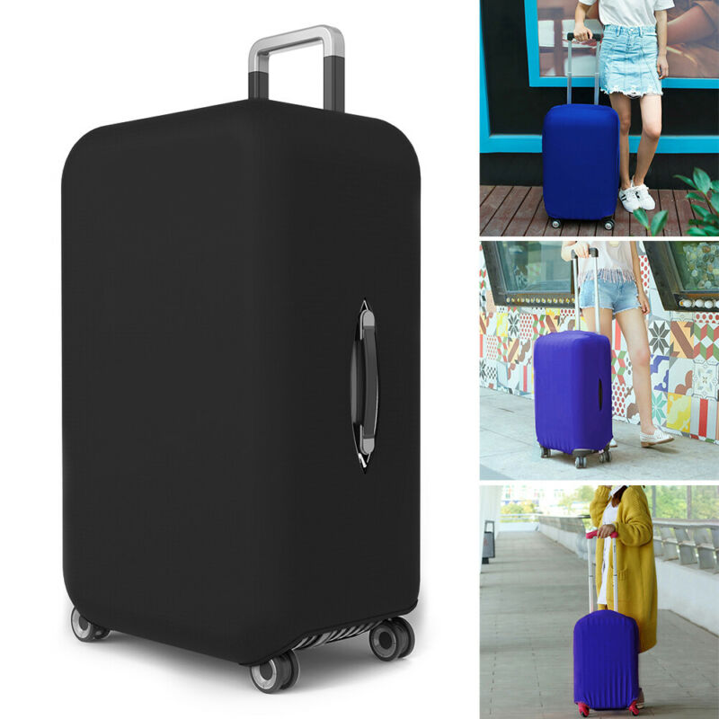 Travel Luggage Bags Case Suitcase Dustproof Cover New Scratch Protector Elastic 4