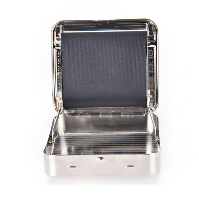 Metal Automatic Cigarette Tobacco Roller Roll Rolling Machine Box Case Maker Tin 2