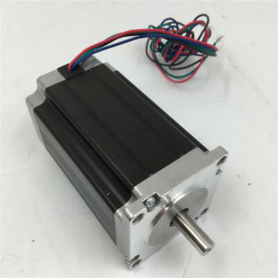 Nema23 Stepper Motor 1.8Nm 255oz.in 3A 2phase 4Wire for CNC Router Engraving 10