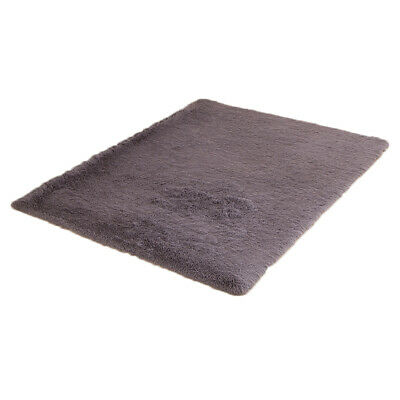 Fluffy Rugs Anti-Skid Shaggy Area Rug Dining Room Carpet Floor Mat Home Bedroom 9