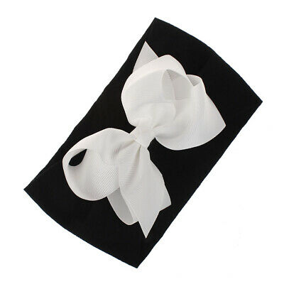 Girls Kids Baby Soft Bow Hairband Headband Sweet Turban Knot Head Wrap Cute Bow 11