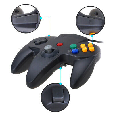 New Nintendo 64 N64 Games Classic Gamepad Controllers For Usb To Pc/Mac 5