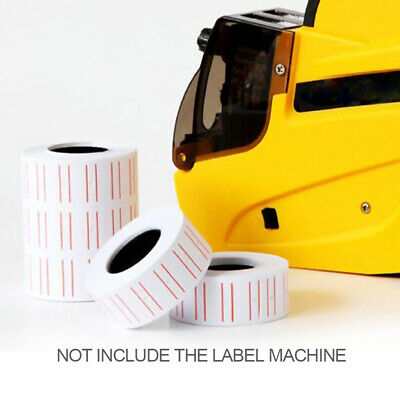 10 Rolls Price Pricing Label Paper Tag Tagging For MX-EOS5500 Labeller Gun 5