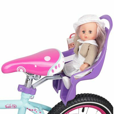 Bike Doll Carrier Seat Kids Girls Seats Post Dolls Holder Stickers Bicycle Kit 3