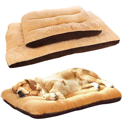 Large Pet Bed Mattress Dog Cushion Pillow Mat Washable Soft Winter Warm Blanket 12