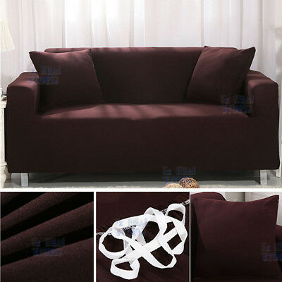 EASY Stretch Couch Sofa Lounge Covers Recliner 1 2 3 4 Seater Dining Chair Cover 4