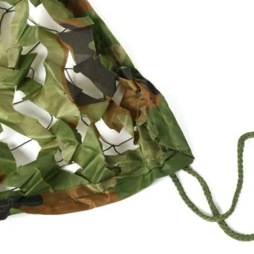 Camouflage Net Camo Hunting Shooting Hide Army Camping Woodland Netting 5M x1.5M 5