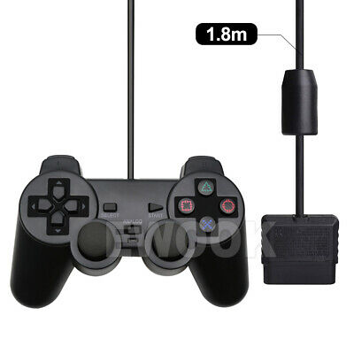 For PS2 PlayStation 2 Wire Cable Controller Dual Shock Gamepad Console Joypad OZ 2