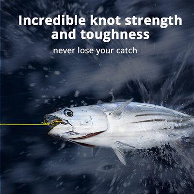 [UPGRADED] KastKing SuperPower Braided Fishing Line - Abrasion Resistant Braid 7