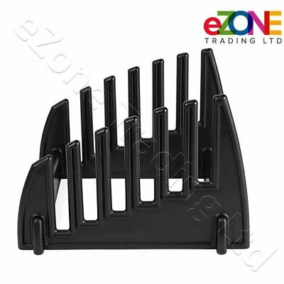 Chopping Board Stand Plastic Rack 6 Slot Catering Cutting Board Holder Storage 3