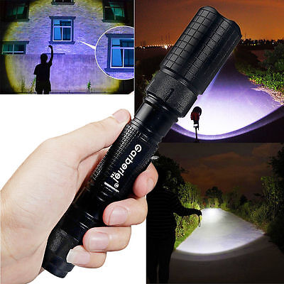 Tactical Police 990000Lumen T6 5Modes LED Flashlight Aluminum Torch Zoomable USA 4