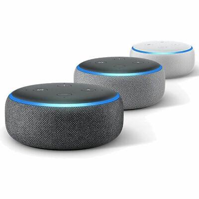 NEW Amazon Echo Dot 3rd Generation Smart speaker with Alexa - Black/Grey/White 3