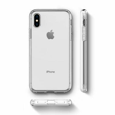 iPhone X XS MAX XR Case Cover Genuine SPIGEN Liquid Crystal SOFT Cover for Apple 12