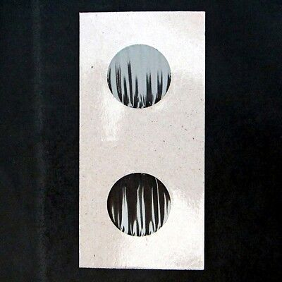 (50) Quarter Size 2x2 Mylar Cardboard Coin Flips for Storage | 25 Cent Holders 3